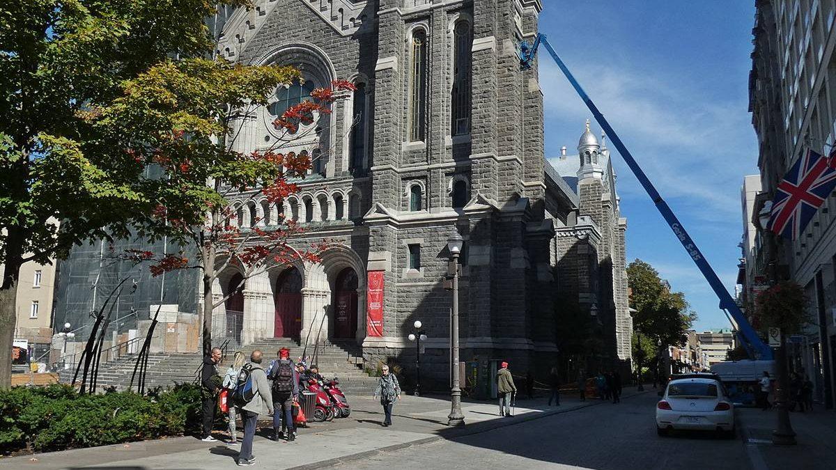 L'église Saint-Roch, sur la rue Saint-Joseph Est, prise en septembre 2019.