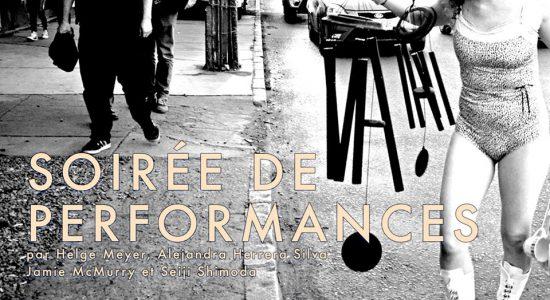 Art Nomade + VIVA! Art Action | Soirée de performances