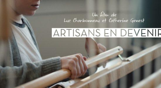 Le film Artisans en devenir présenté à Kamouraska