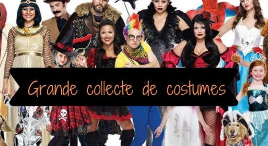 Grande collecte de costumes d'Halloween 2019