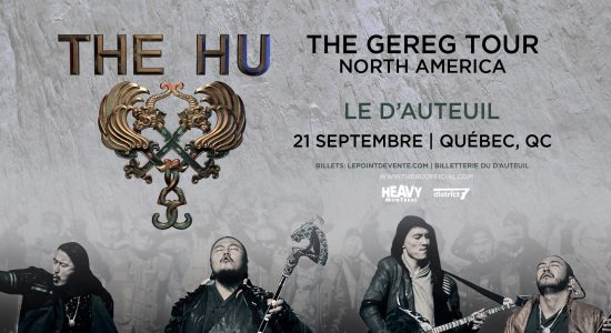 Heavy Montreal présente The HU