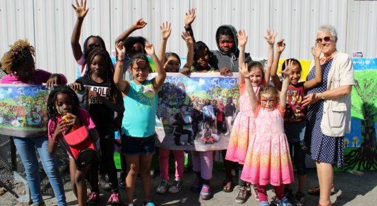 L'école des Berges inaugure «La rivière» - Véronique Demers