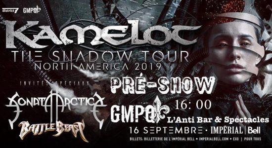 Pré-Show GMPQ Kamelot