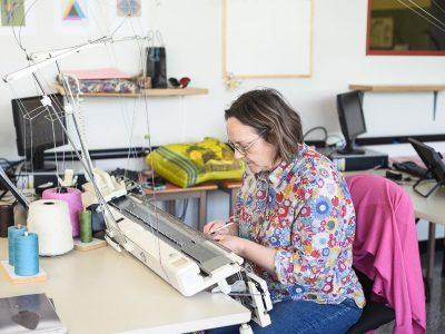 Initiation au tricot machine