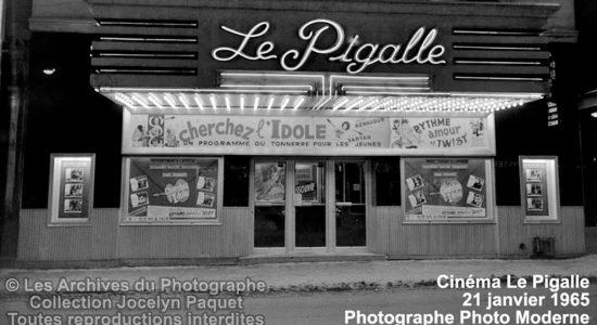 Saint-Roch dans les années 1960 (35) : cinéma Le Pigalle - Jean Cazes