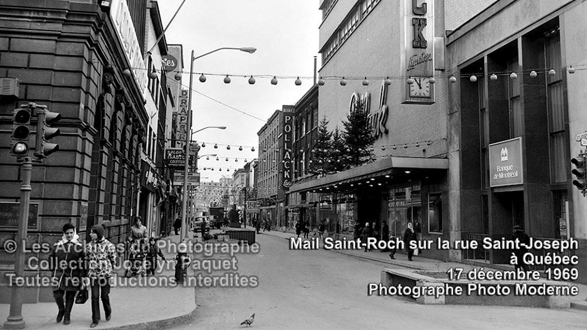 Saint-Roch dans les années 1960 (37) : le mail Saint-Roch avant son toit | 17 janvier 2021 | Article par Jean Cazes