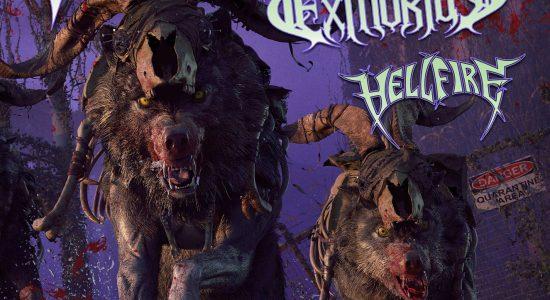 Death Angel avec Exmortus et Hellfire