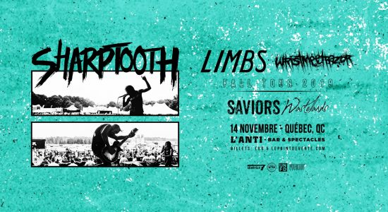 Sharptooth avec Limbs, Wristmeetrazor et Saviors