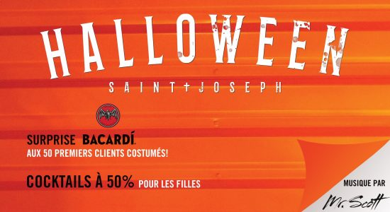 Party d'Halloween au District!