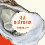 Jeudi 4 à huîtres - Laurentien Buvette Gourmande
