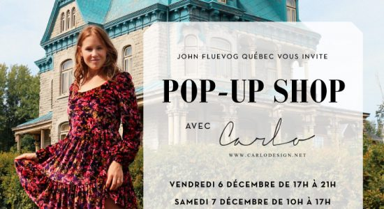 Pop-Up Shop avec Carlo