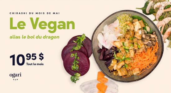 Chirashi mois de mais   Ogari-San Sushi