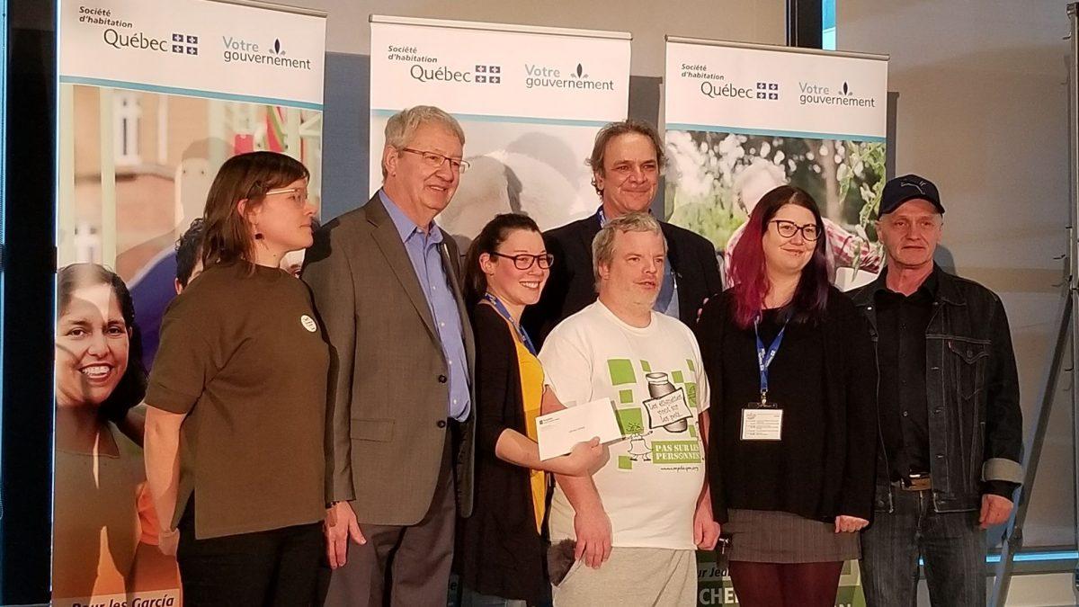 Le premier Prix François Saillant atterrit dans Saint-Roch | 5 novembre 2019 | Article par Suzie Genest