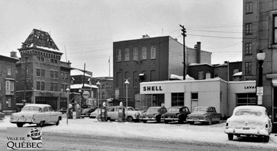 Saint-Roch dans les années 1950 (22) : caserne de pompier et station-service - Jean Cazes