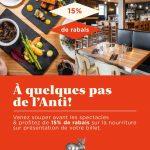 Anti bar et Laurentien Buvette Gourmande - Laurentien Buvette Gourmande