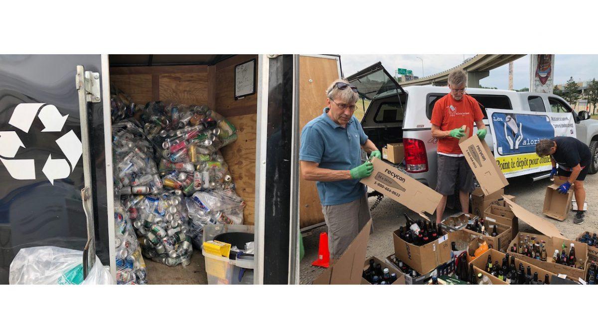 Projet-pilote des Valoristes : 110 446 contenants consignés sauvés des déchets | 3 décembre 2019 | Article par Suzie Genest