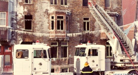 Saint-Roch dans les années 1980 (14) : tragique incendie sur la rue Dorchester - Jean Cazes