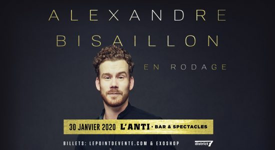 Alexandre Bisaillon en rodage