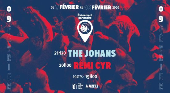 The Johans et Rémi Cyr