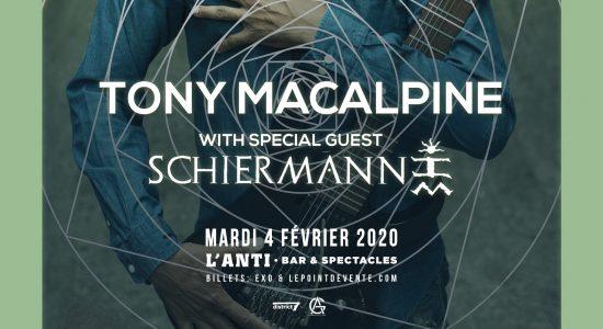 Tony MacAlpine avec Schiermann
