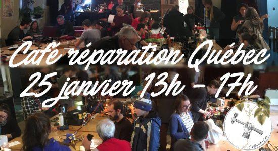 N°5: Café réparation, Québec