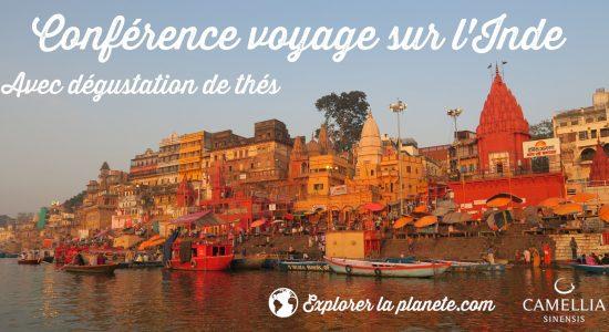 Les conférences explorer la planète: L'Inde, Trésors du Rajasthan, du Kerala et du Ladakh