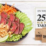 25% Take-outs - SHAKER St-Joseph - Cuisine & Mixologie