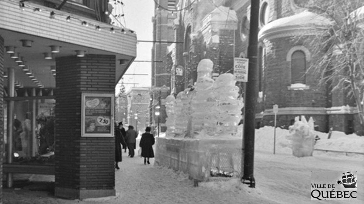 Rue Saint-Joseph. 6 février 1963.