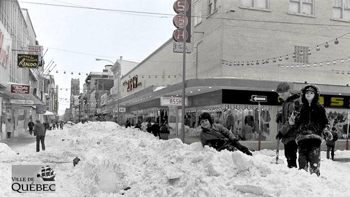 Saint-Roch dans les années 1970 (32) : après la Tempête du siècle sur la rue Saint-Joseph Est | 1 mars 2020 | Article par Jean Cazes
