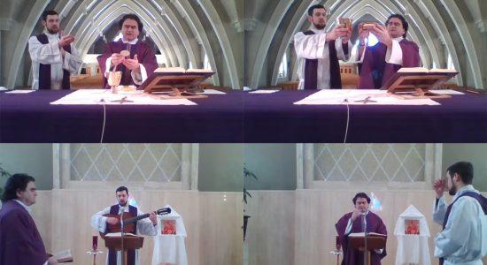 La messe chez vous : Sainte-Marie-de-l'Incarnation sur YouTube - Suzie Genest