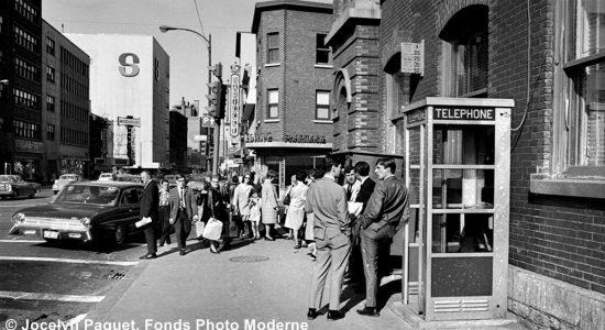 Saint-Roch dans les années 1960 (36) : intersection Charest Est et Dorchester - Jean Cazes
