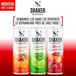 Cocktails prêts à boire - SHAKER St-Joseph - Cuisine & Mixologie