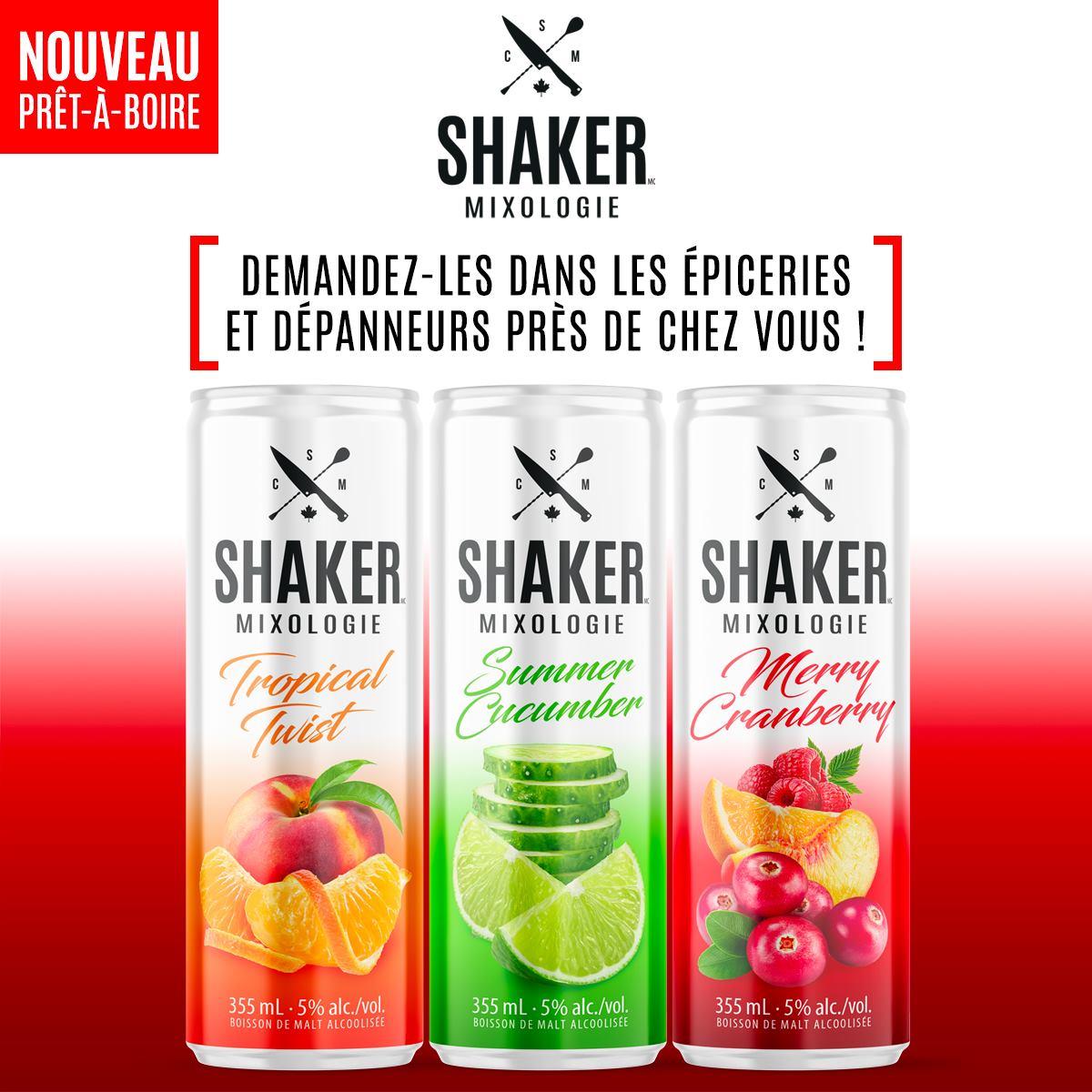 Cocktails prêts à boire | SHAKER St-Joseph – Cuisine & Mixologie