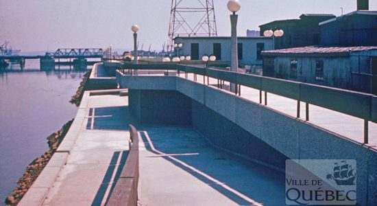 Saint-Roch dans les années 1970 (34) : la Saint-Charles «bétonnée» à l'est du pont Dorchester - Jean Cazes