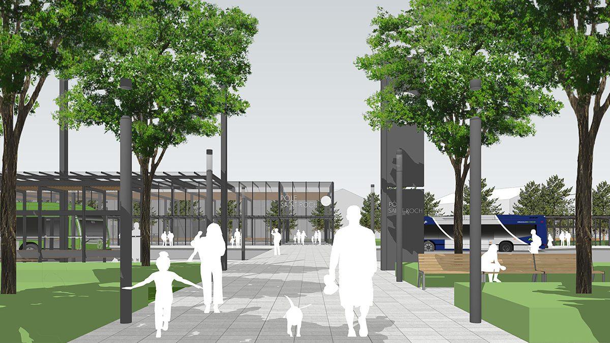 Le nouveau trajet du tramway, trop proche des résidences sur la rue du Chalutier et des Embarcations | 10 juin 2020 | Article par Monsaintroch