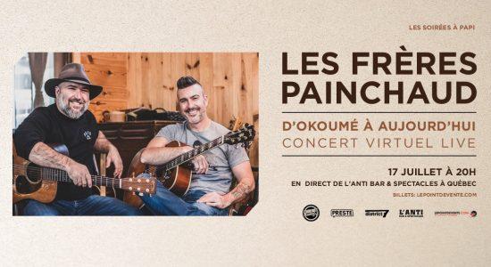 Les frères Painchaud – D'Okoumé à aujourd'hui – Concert virtuel