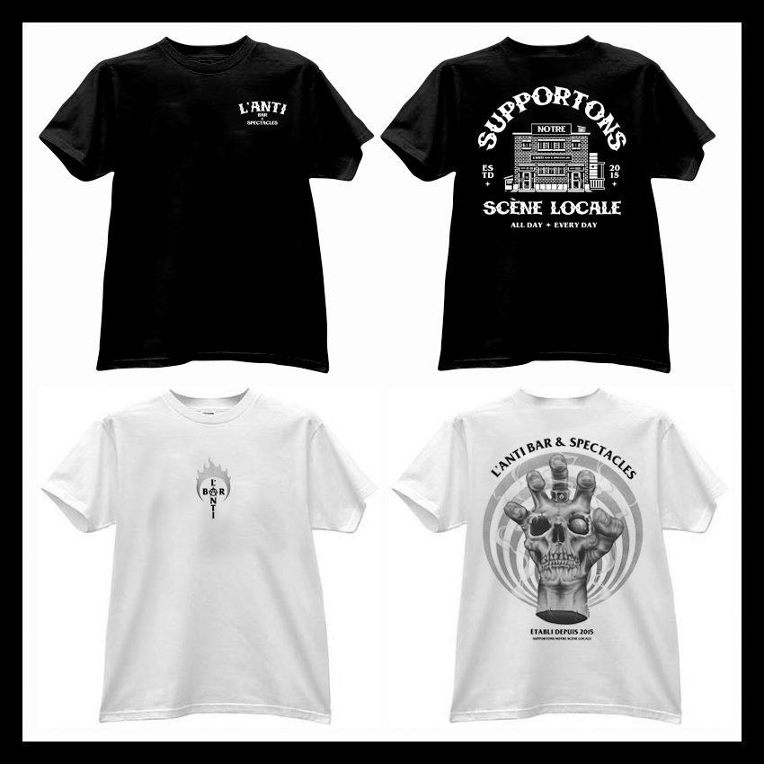T-shirt de L'Anti Bar & Spectacles | Anti Bar & Spectacles (L')