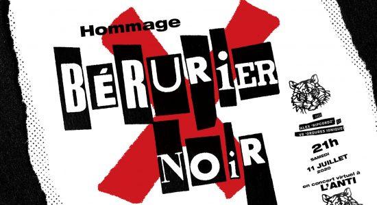 Bérurier Noir (Hommage) – Concert virtuel en direct de L'Anti