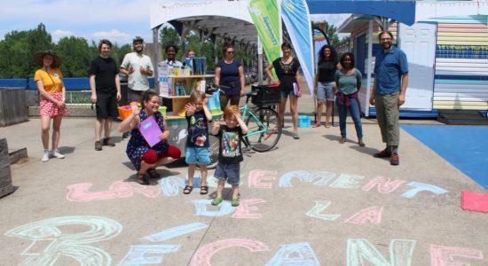 Un été vitaminé en lecture dans les parcs de Saint-Roch! - Véronique Demers