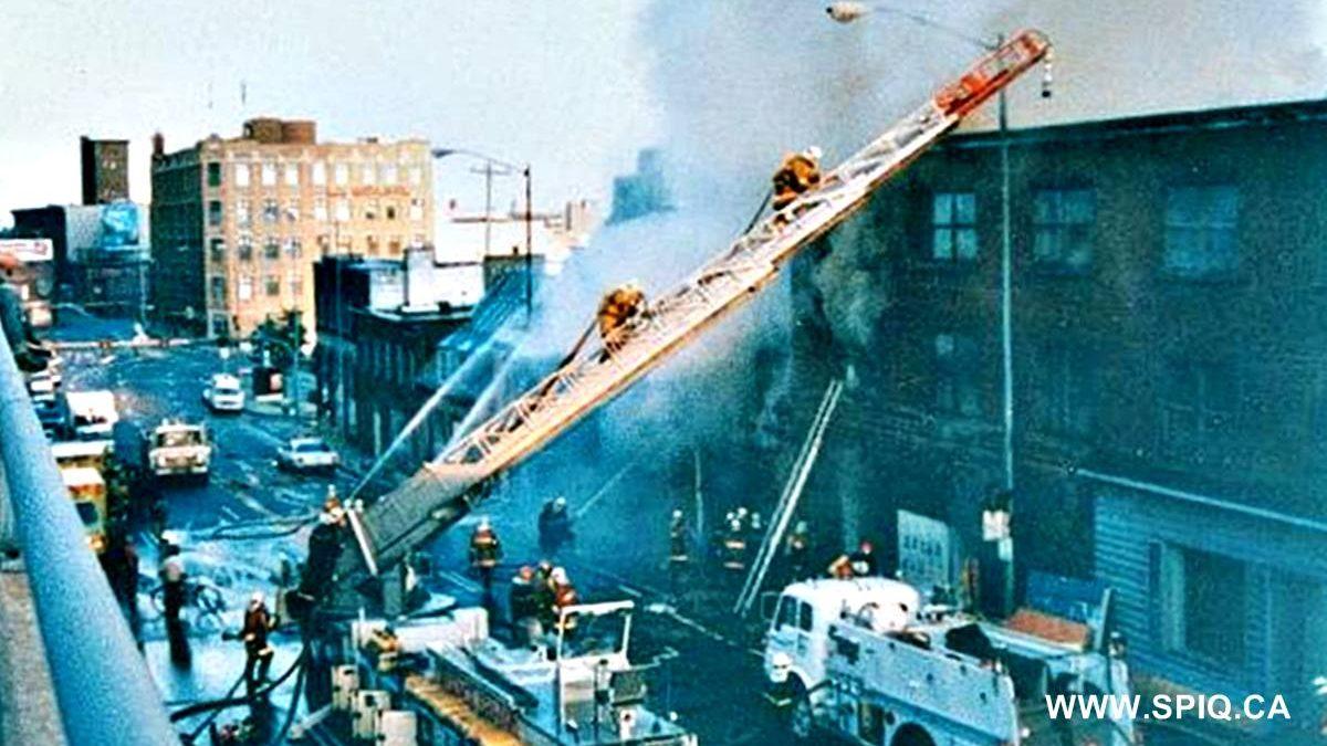 Saint-Roch dans les années 1990 (5) : incendie sur la côte d'Abraham | 30 août 2020 | Article par Jean Cazes