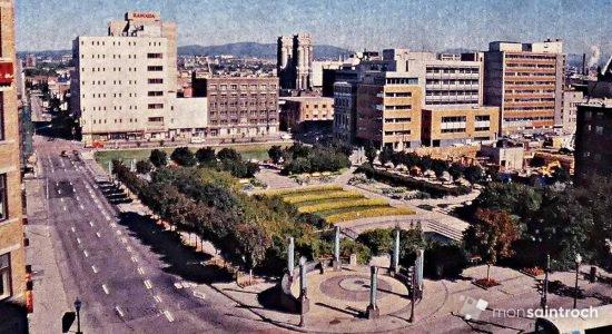 Saint-Roch dans les années 1990 (4) : le jardin de Saint-Roch - Jean Cazes