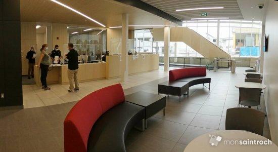 PHOTO 2 - YMCA Saint-Roch (accueil). 17 août 2020.