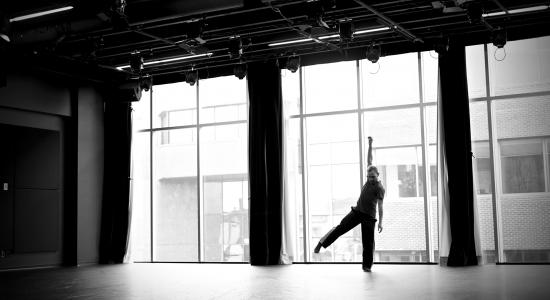 Première de l'oeuvre Solo pour Fabien à la Maison pour la danse!