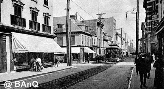 Saint-Roch dans les années 1900 : la rue Saint-Joseph et son tramway en 1907 - Jean Cazes