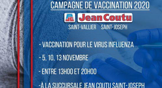 Campagne de vaccination influenza | Jean Coutu