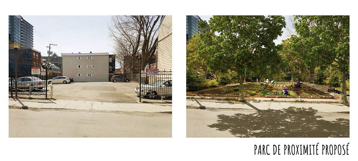 Parc à venir : la Ville acquiert un stationnement sur la rue du Parvis | 29 octobre 2020 | Article par Suzie Genest