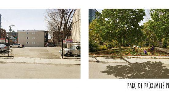 Parc à venir : la Ville acquiert un stationnement sur la rue du Parvis - Suzie Genest