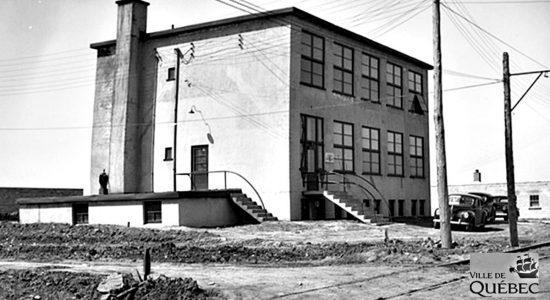 L'usine en 1946.
