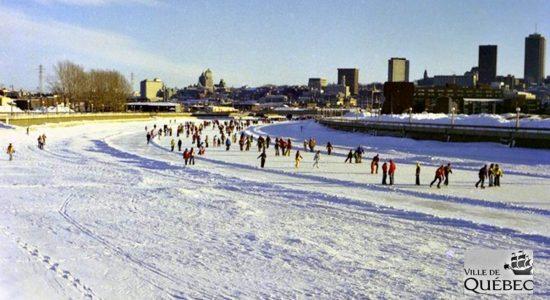 Histoire de la patinoire de la Saint-Charles : 1- Allons patiner sur la rivière! - Réjean Lemoine