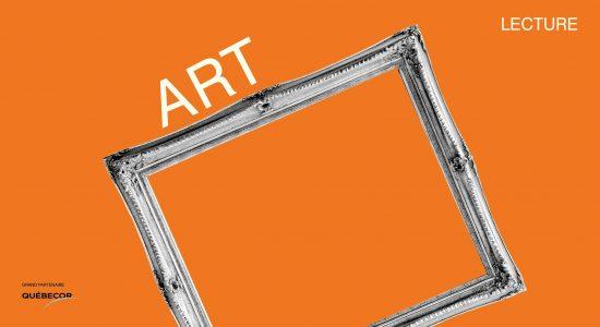 Lecture gratuite virtuelle de Art à La Bordée